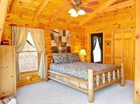 BEDROOM 1 at MOUNTAIN PAS in Pigeon Forge TN