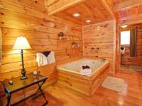 JACUZZI (BEDROOM 2) at MOUNTAIN PAS in Pigeon Forge TN