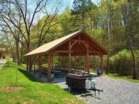 PICNIC AREA at MOUNTAIN PAS in Pigeon Forge TN