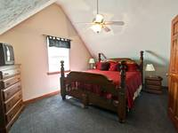 BEDROOM 2 (UPSTAIRS) at XHEART'S DESIRE in Sevier County TN