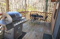 DECK at XHEART'S DESIRE in Sevier County TN
