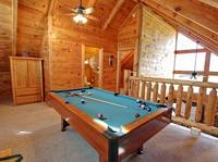 POOL TABLE at HIGH NOON in Sevier County TN