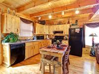 KITCHEN AREA at HIGH NOON in Sevier County TN