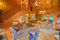 LIVING AREA at WINTER HAVEN in Sevier County TN