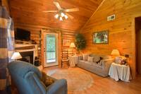 LIVING AREA at AT WITTS INN in Sevier County TN