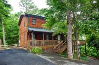 EXTERIOR at HEMLOCK HIDEAWAY in Sevier County TN