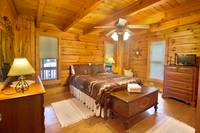 BEDROOM 3 at HEMLOCK HIDEAWAY in Sevier County TN