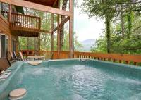 HOT TUB at BEDFORD FALLS in Sevier County TN