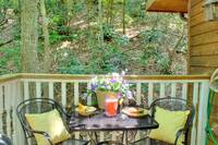 OUTDOOR DINING at XDANCES WITH BEARS in Sevier County TN