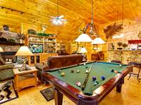 POOL TABLE at XGIDDY-UP INDOOR POOL in Sevier County TN