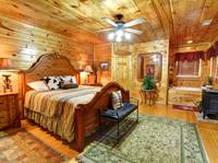 BEDROOM at XGIDDY-UP INDOOR POOL in Sevier County TN