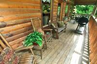 DECK at XGIDDY-UP INDOOR POOL in Sevier County TN