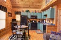 KITCHEN at OVER THE HILL in Sevier County TN