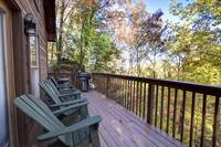 DECK at OVER THE HILL in Sevier County TN