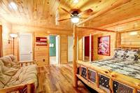 BEDROOM 1 (MAIN LEVEL) at ALL-AMERICAN in Gatlinburg TN