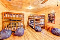 BEDROOM 3 (2 SETS OF DOUBLE BUNK BEDS/MAIN LEVEL) at ALL-AMERICAN in Gatlinburg TN
