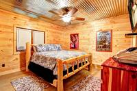 BEDROOM 8 (KING/DOWNSTAIRS) at ALL-AMERICAN in Gatlinburg TN