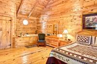 BEDROOM at A SPECIAL PLACE in Sevier County TN
