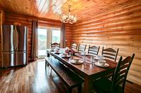 DINING AREA at BIG BEAR LODGE in Sevier County TN