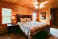 BEDROOM 1 at BIG BEAR LODGE in Sevier County TN