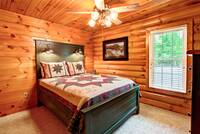 BEDROOM 3 at BIG BEAR LODGE in Sevier County TN