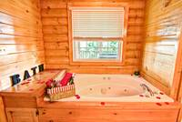 JACUZZI at BIG BEAR LODGE in Sevier County TN