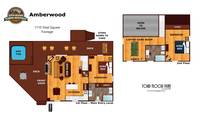 UNIT LAYOUT at AMBERWOOD in Sevier County TN