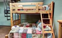 BUNK BEDS at MOUNTAIN TREASURE in Sevier County TN