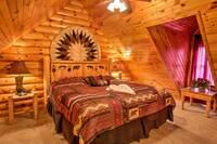 BEDROOM 1 (LOFT) at SWEET RETREAT in Sevier County TN