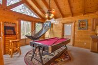 GAME ROOM (LOFT) at ABOVE THE REST in Sevier County TN