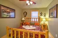 BEDROOM 1 at MOUNTAIN JOY in Sevier County TN
