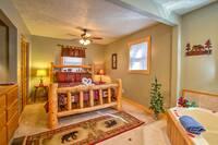 BEDROOM 2 at MOUNTAIN JOY in Sevier County TN