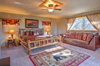 BEDROOM at NESTLED INN in Sevier County TN