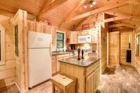 KITCHEN at A MARY CABIN in Sevier County TN
