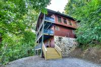 EXTERIOR at SMOKEY MTN PARADISE in Gatlinburg TN