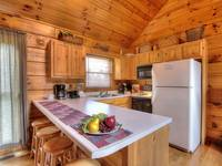KITCHEN at A HIBERNATION STATION in Pigeon Forge TN