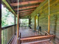 DECK at A HIBERNATION STATION in Pigeon Forge TN