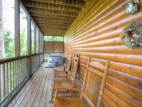 2nd LEVEL BACK DECK (SCREENED)