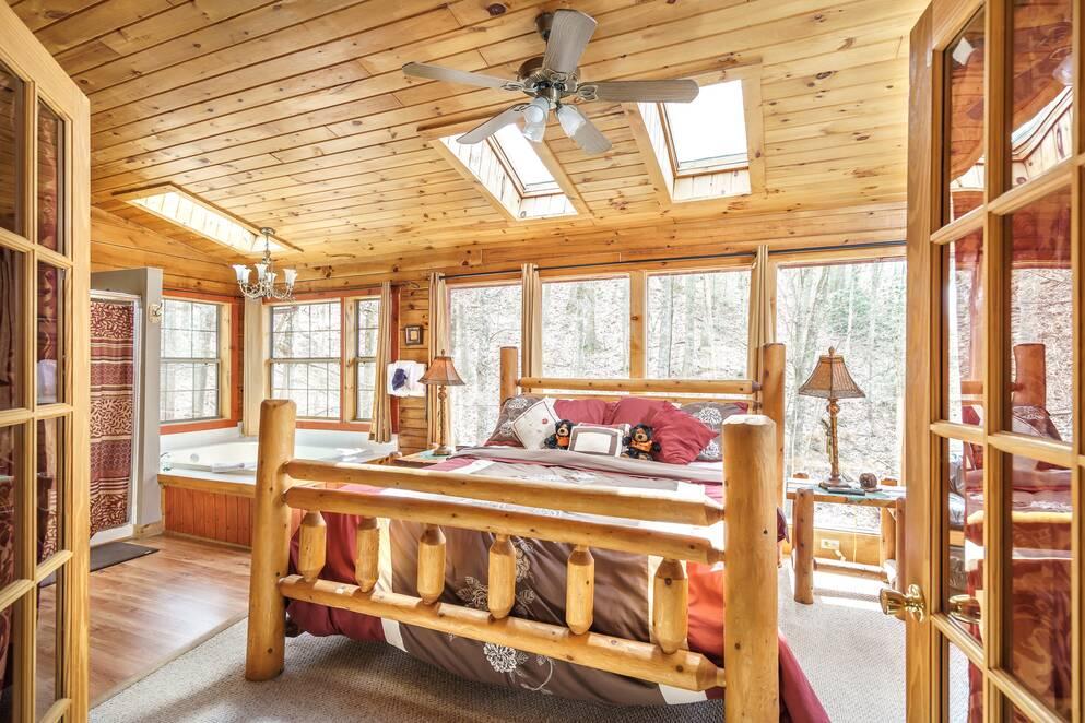 Pandora S Hideaway Bear Camp Cabin Rentals