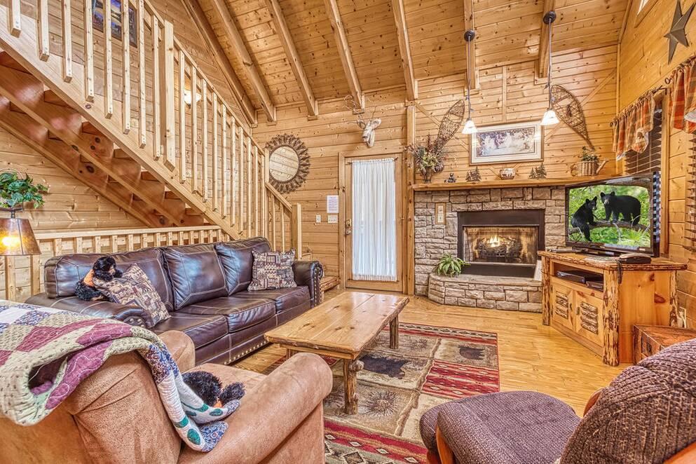 Dancing Bear Bear Camp Cabin Rentals