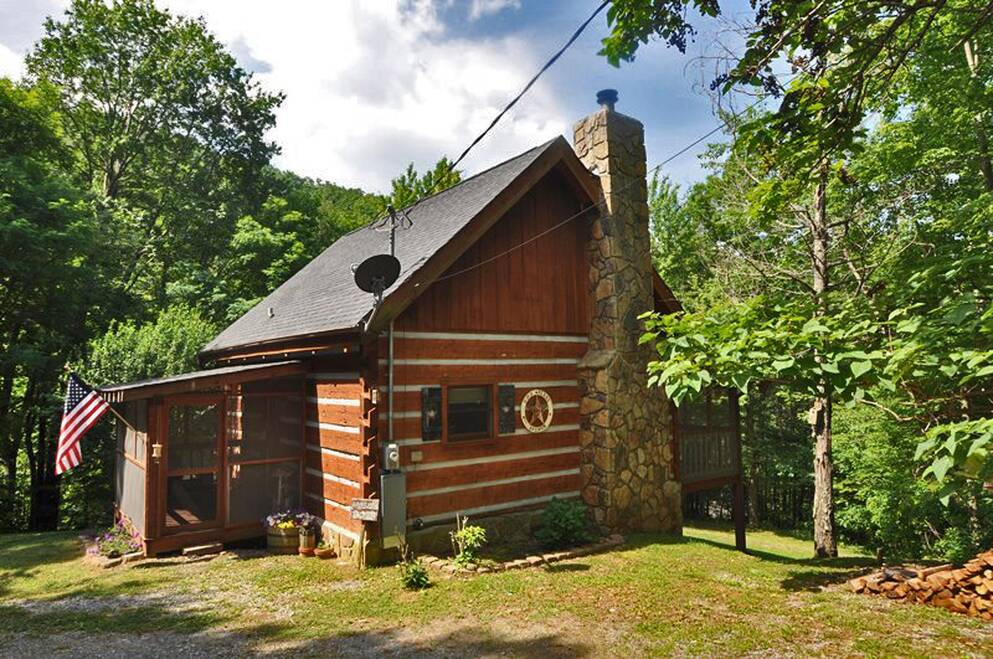 forge contain rental rentals indoor pigeon apache cabin id sunset image may tn cottage media in facebook home