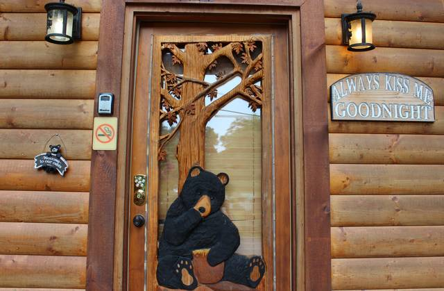 Bear Camp Cabin Rentals Always Kiss Me Goodnight