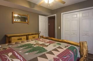 Reverse view of queen bedroom showing spacious closet
