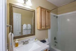 View of bathroom showing shower