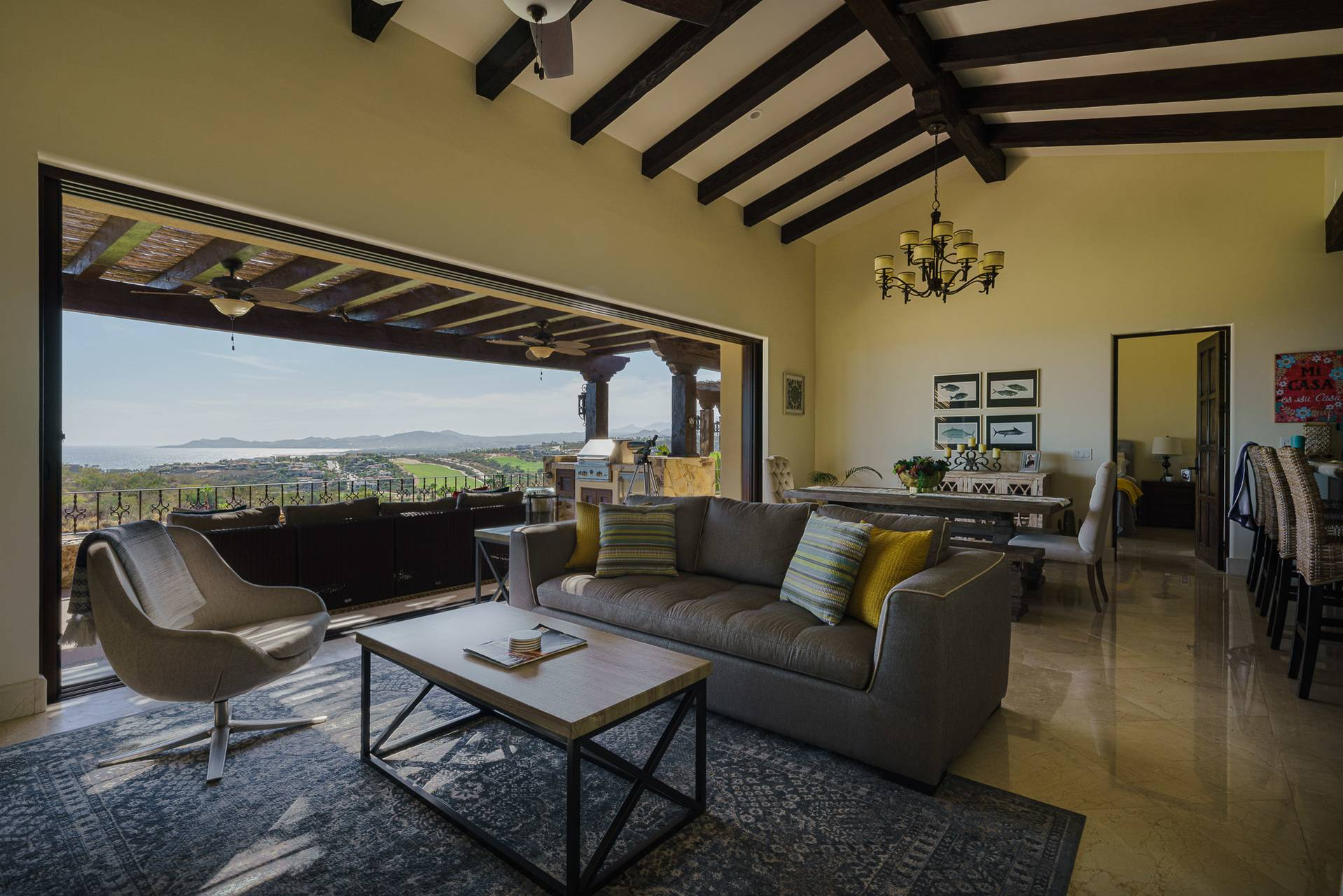 PUERTO LOS CABOS GOLF VILLA  3 Bedroom Cabin Rental