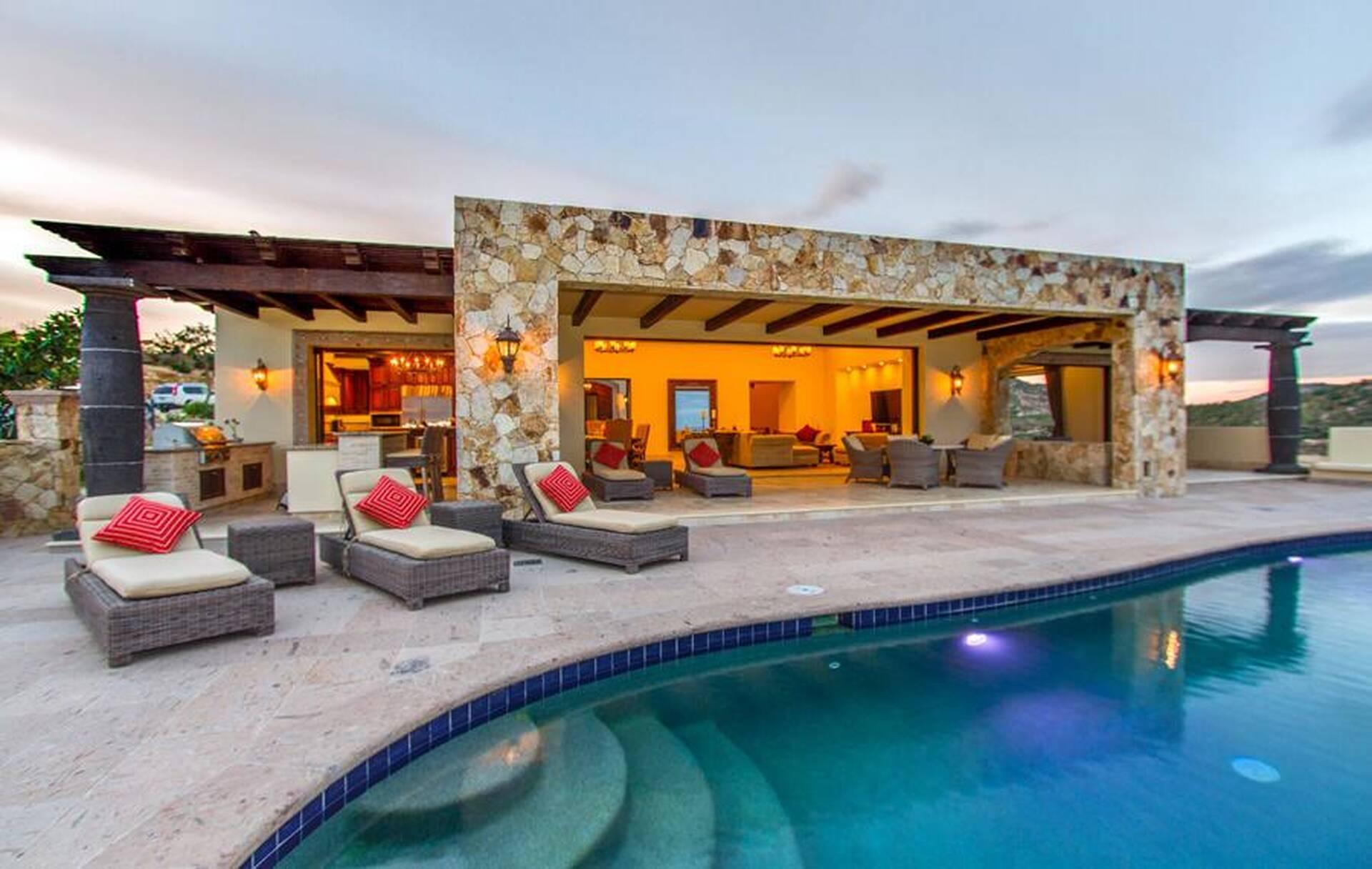 Casa Kay Puerto Los Cabos 7 Bedroom Cabin Rental