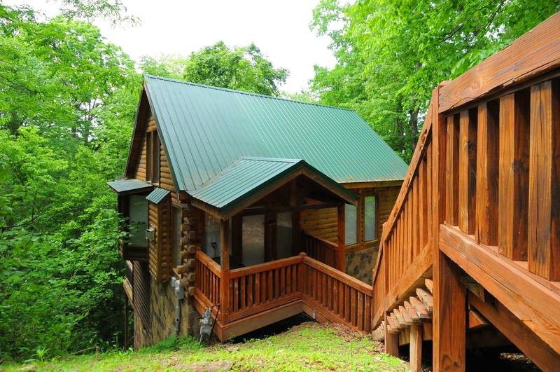 Chasing Moonbeams 1 Bedroom Cabin In Gatlinburg Diamond Mountain Rentals