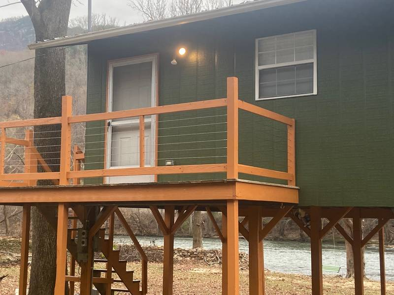 French Broad River Cabin 2