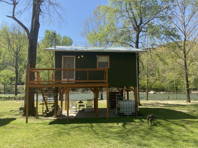 French Broad River Cabin 0
