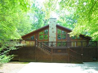 Lazy Bear Cabin in Gatlinburg TN
